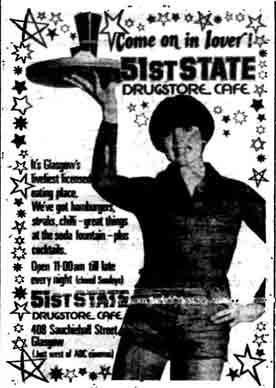 51st State advert 1977