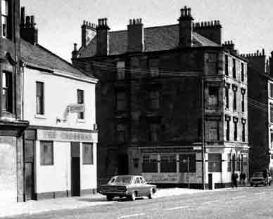 The Cross Bar with Reekie Linn 1970s