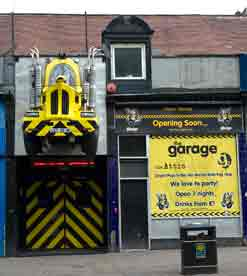 Garage the for The garage glasgow