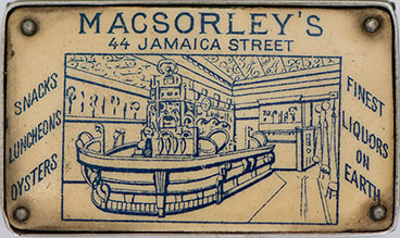 MacSorley's vest cash tin matchbox