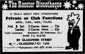 Rooster advert 1974