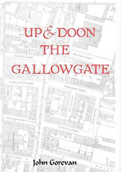 Up and Doon the Gallowgate booklet cover