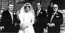 Arthur Mone wedding photo