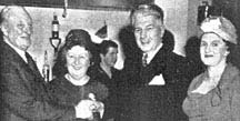 Image of J A MacDonald, Mr & Mrs Anderson and daughter Fiona Brown 1963