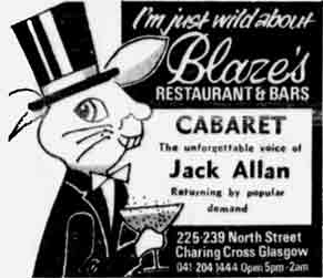 Blazes advert 1977