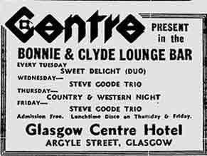 Bonny and Clyde advert 1977