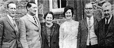 image of group of people with Mrs Cornerlius Byrne 1966