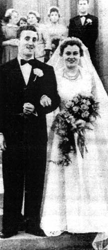 John Boyle and Clare Smyth wedding photo 1956