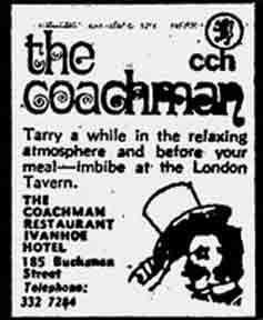 Coachman advert 1970