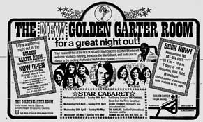 Golden Garter ad 1975