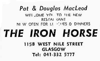 Iron Horse advert 1977