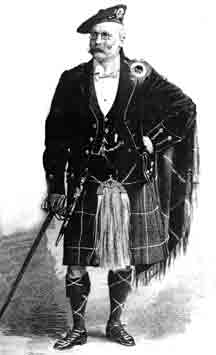 Mr James Miller in Kilt attire