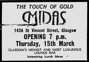 Midas advert 1979