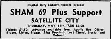Satellite City advert 1978