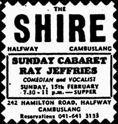 Shire Advert 1970