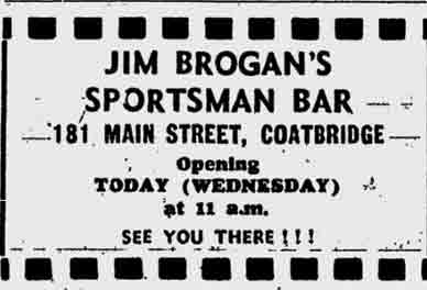 Sportsman bar 1973