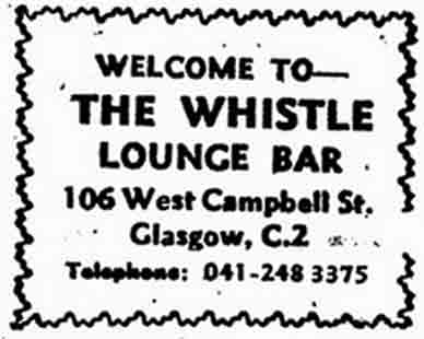 Whistle Advert 1970