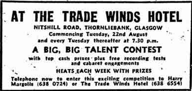 Trade Winds advert 1978