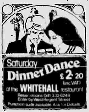 Whitehalls advert 1974