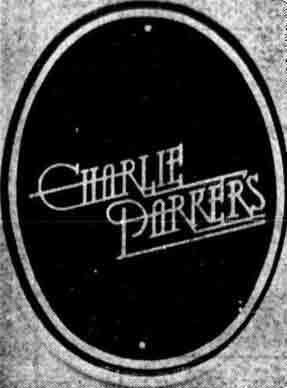 Charlie Parker sign 1978